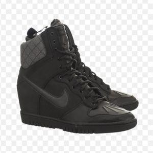 Nike Dunk Sky Hi Sneaker Wedge Boots 2.0